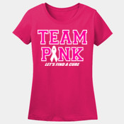 TEAM PINK / GLITTER FLAKE / MISSY FIT